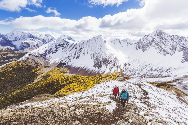 Pocaterra Ridge is of the best hikes in Kananaskis