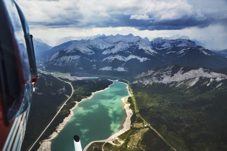 Barrier Lake in Kananaskis, Alberta