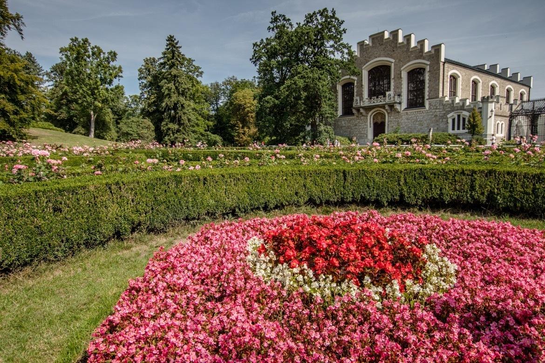 Hluboka Castle in Czech Republic