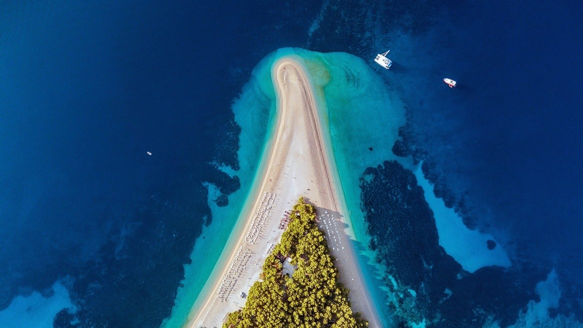 Zlatni Rat in Croatia
