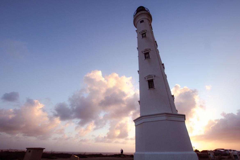 The California Lighthouse in Aruba
