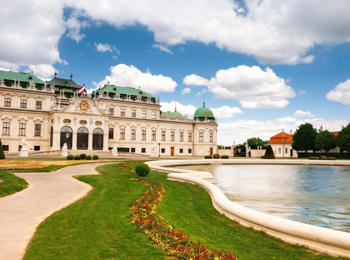 The Belvedere is one of the top things to see in Vienna