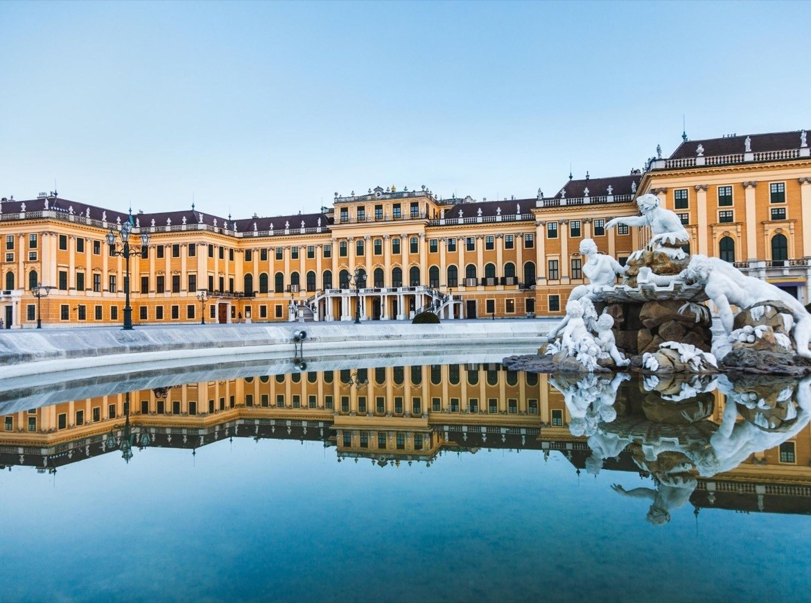 Schönbrunn Palace is one of the best things to do in Vienna Austria