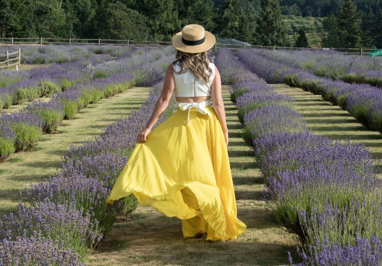 Lavender farms in Oregon
