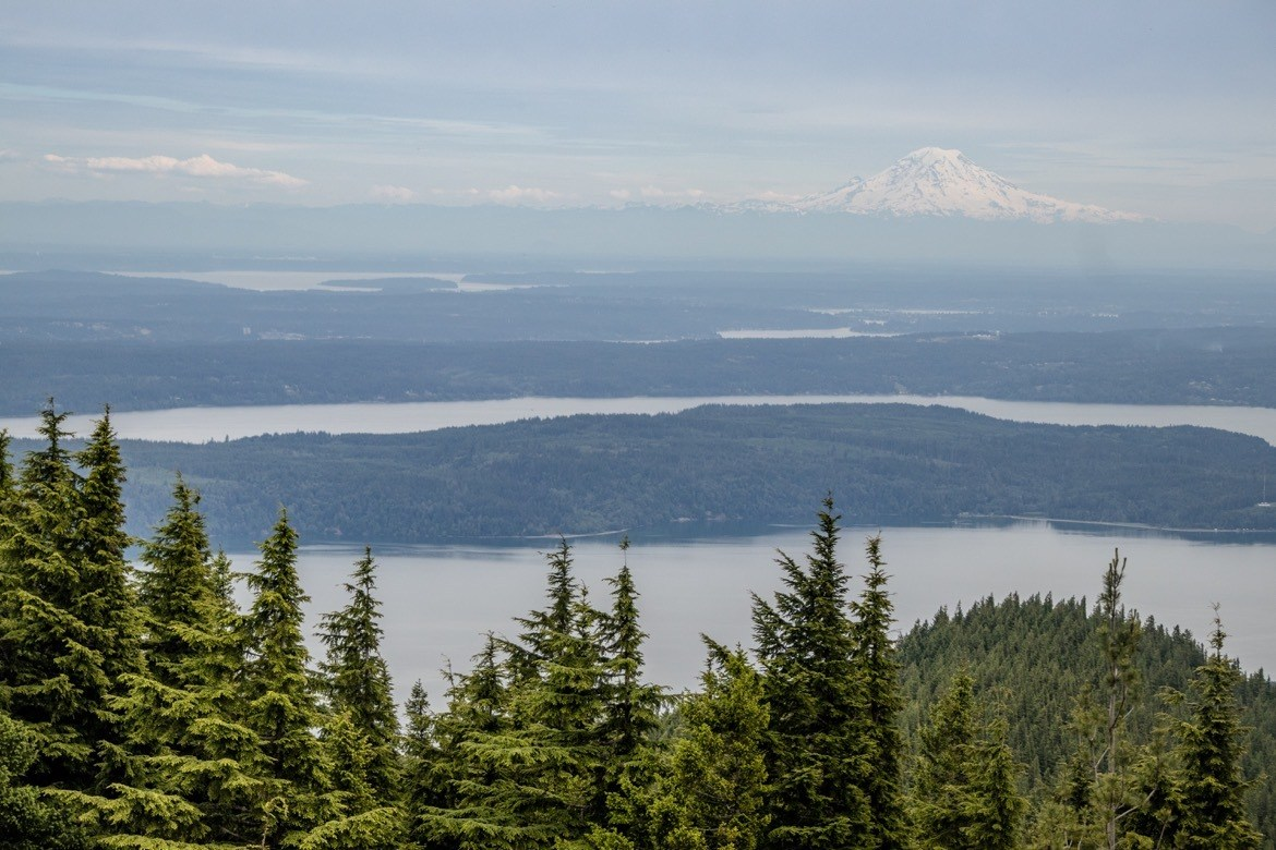 Mt Walker Viewpoint is one of the best things to do in Olympic National Park