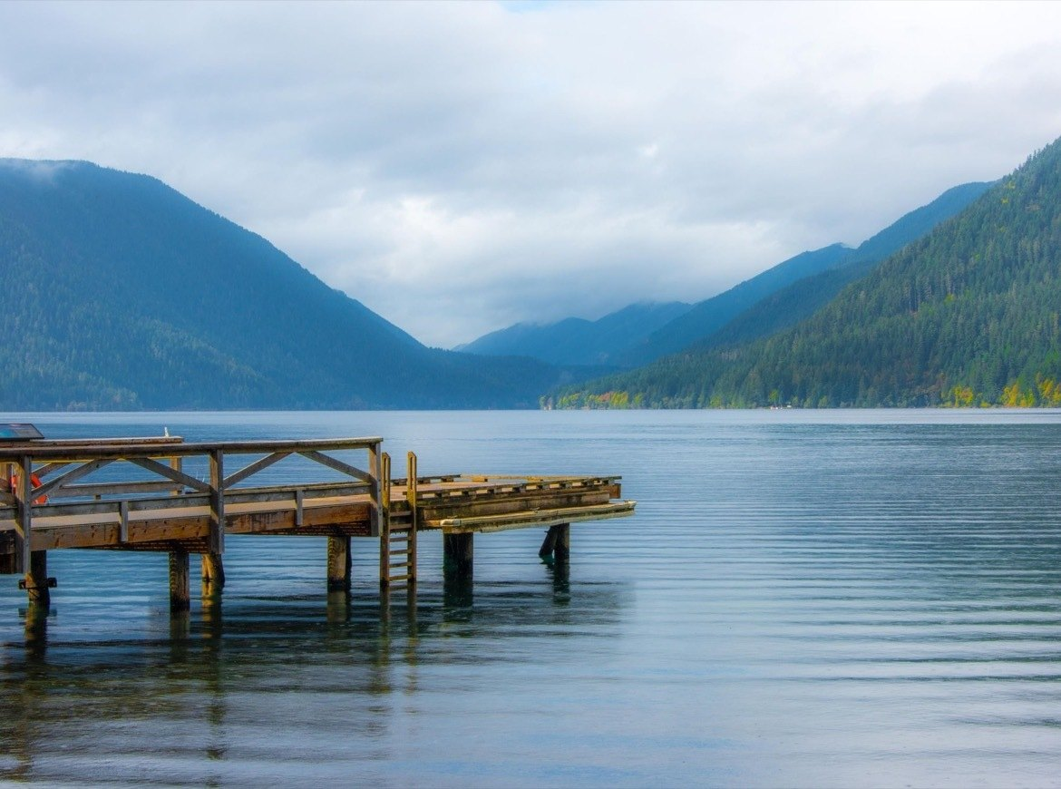 Swimming in Lake Crescent is one of the best things to do in Olympic National Park