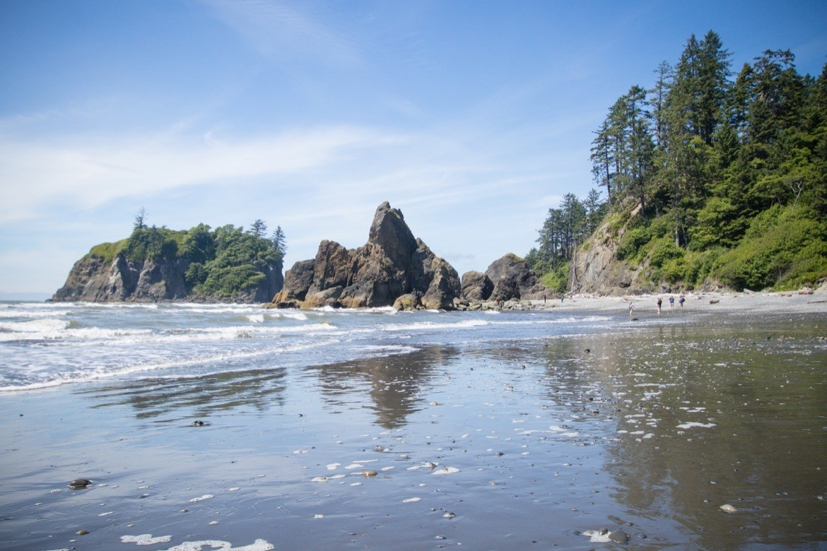 Ruby Beach is one of the bet things to do in Olympic National Park
