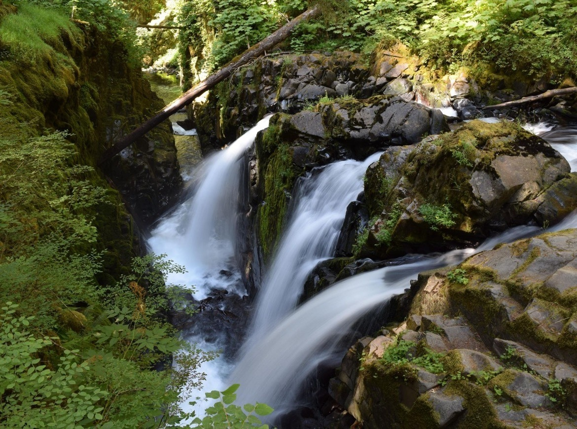 Sol Duc Falls is one of the best things to do in Olympic National Park
