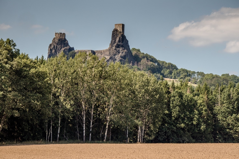 Trosky castle in Cesky Raj, the Bohemian Paradise