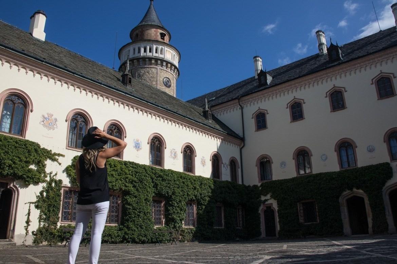 Sychrov Chateau in Cesky Raj, the Bohemian Paradise