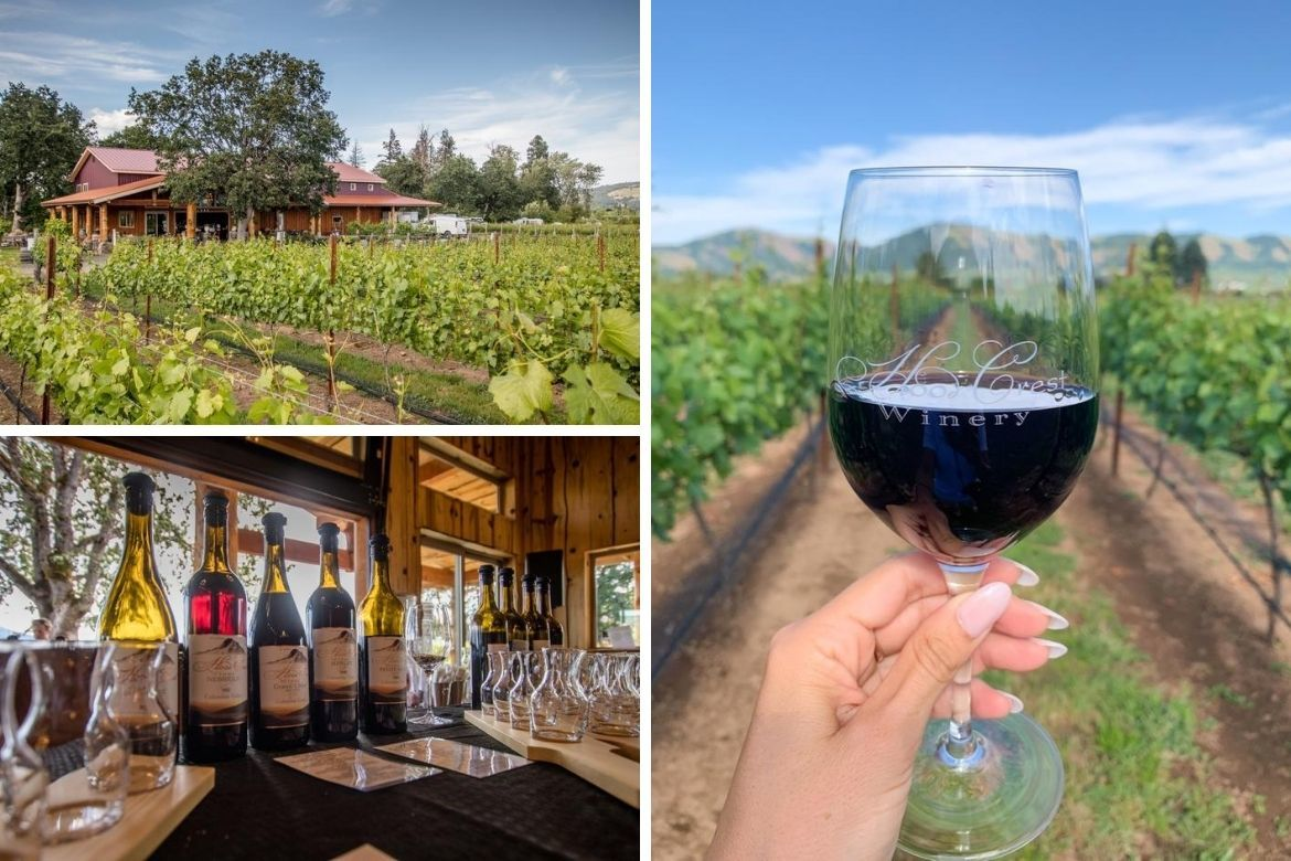 Hood Crest Winery is one of the best Hood River wineries