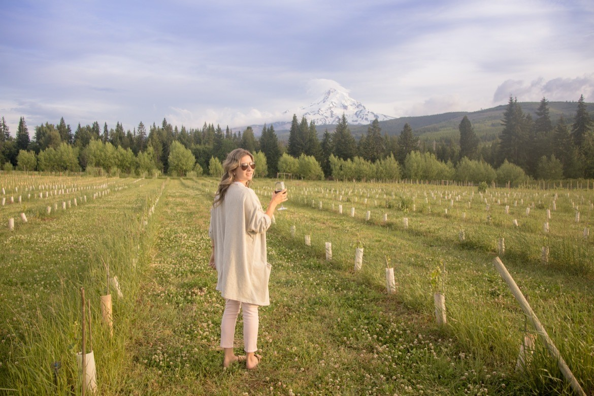 The Grateful Vineyard is one of the best Hood River wineries