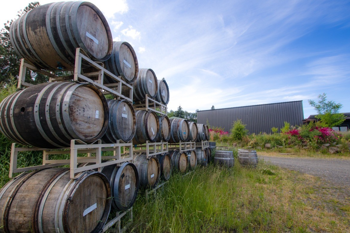 Hiyu Wine Farm is one of the best Hood River wineries