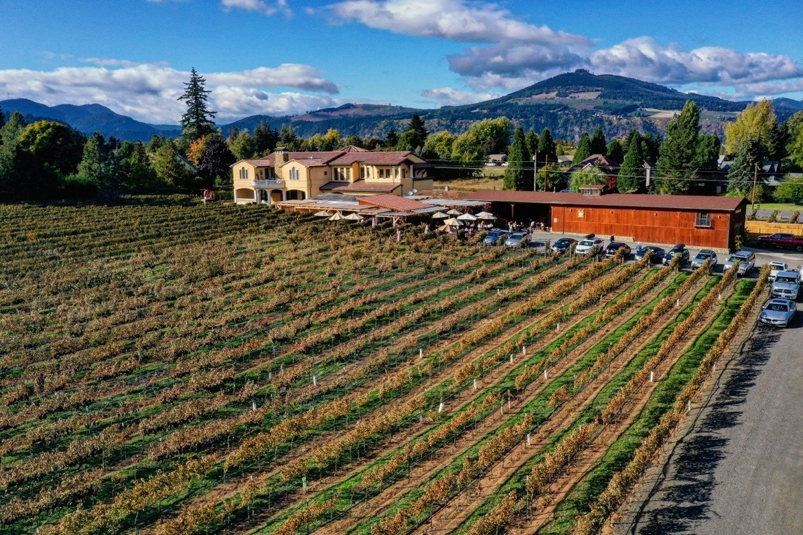 Marchesi Vineyards is one of the best Hood River winereries