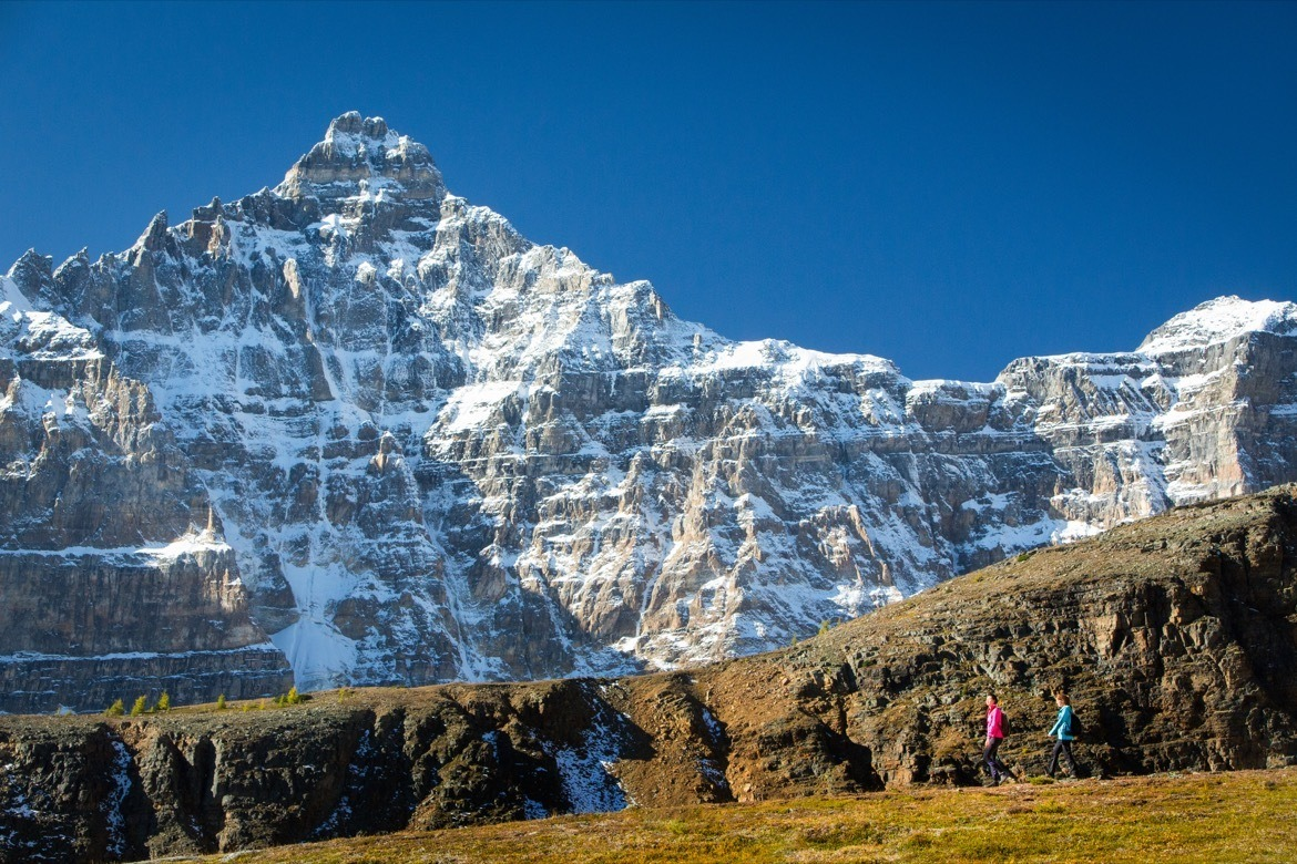The Larch Valley hike