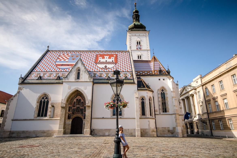 St Mark's Church in Zagreb, Croatia