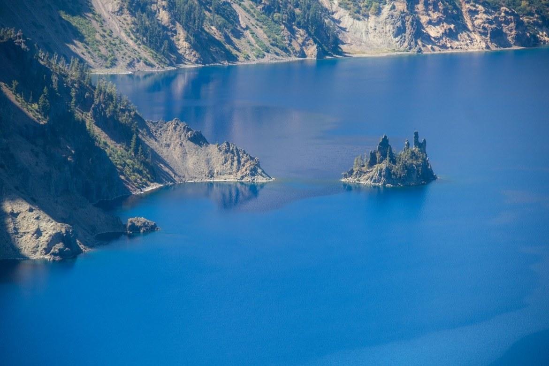 Phantom Ship overlook in Crater Lake National Park, Oregon