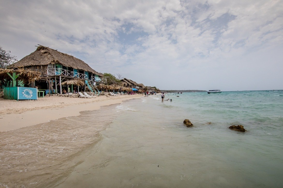 A Rosario Islands day trip is one of the best things to do in Cartagena Colombia