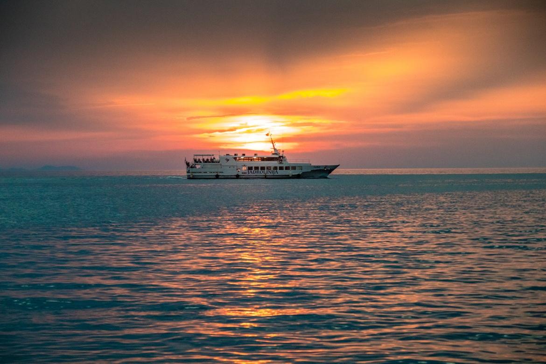 Sunset in Zadar Croatia