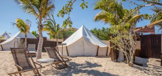 ChiloChill glamping resort in La Ventana, Mexico