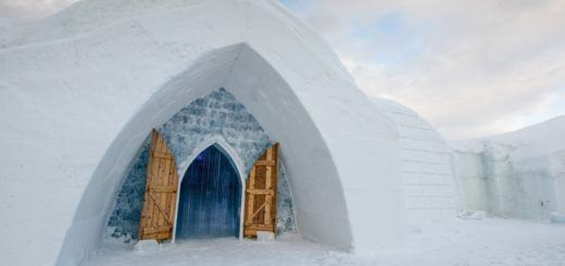 Hôtel de Glace, the Quebec City ice hotel