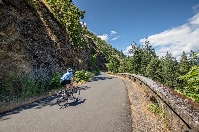 The Mosier Twin Tunnels Trail near Hood River Oregon