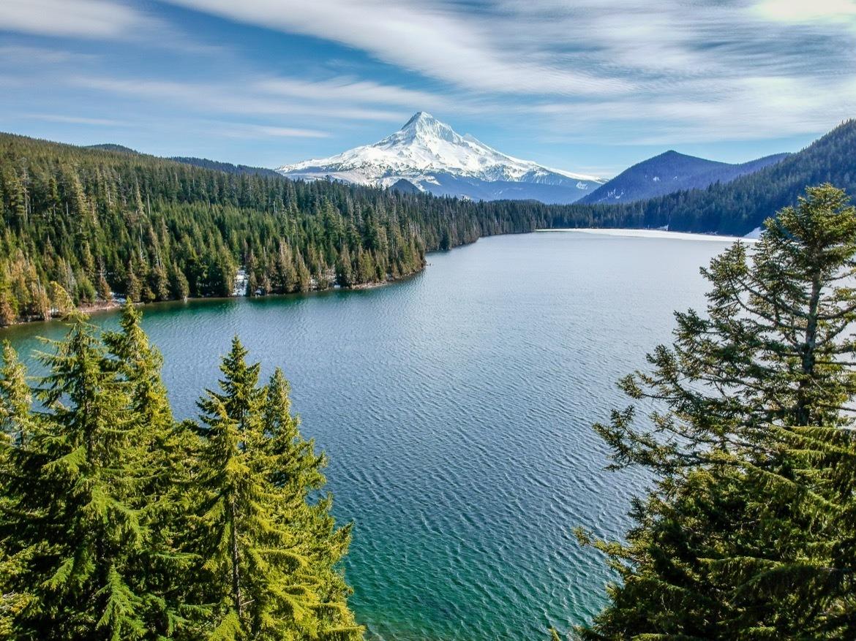 Lost Lake in Oregon