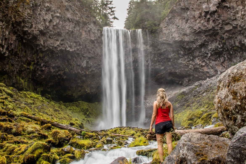 Tamanawas Falls in Oregon