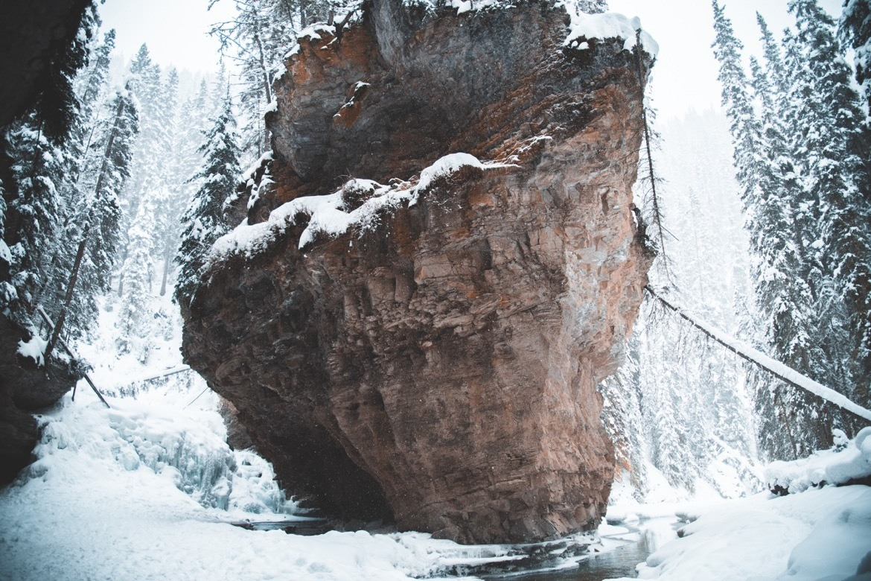 Johnston Canyon in Banff, Alberta