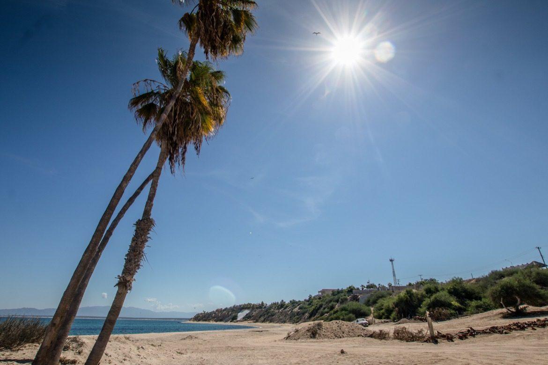 Beach in La Ventana Mexico