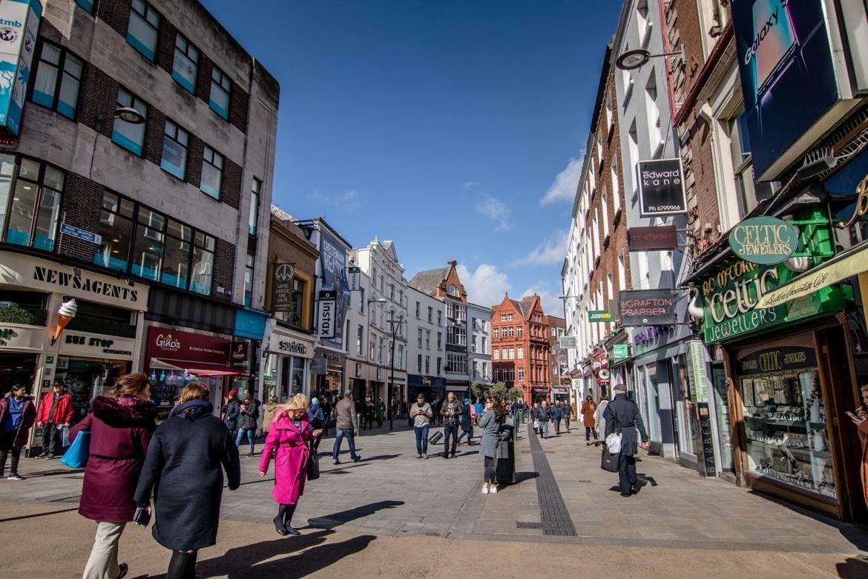 Grafton Street in Dublin