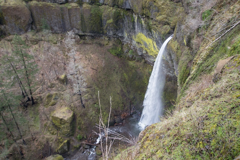 Elowah Falls from above