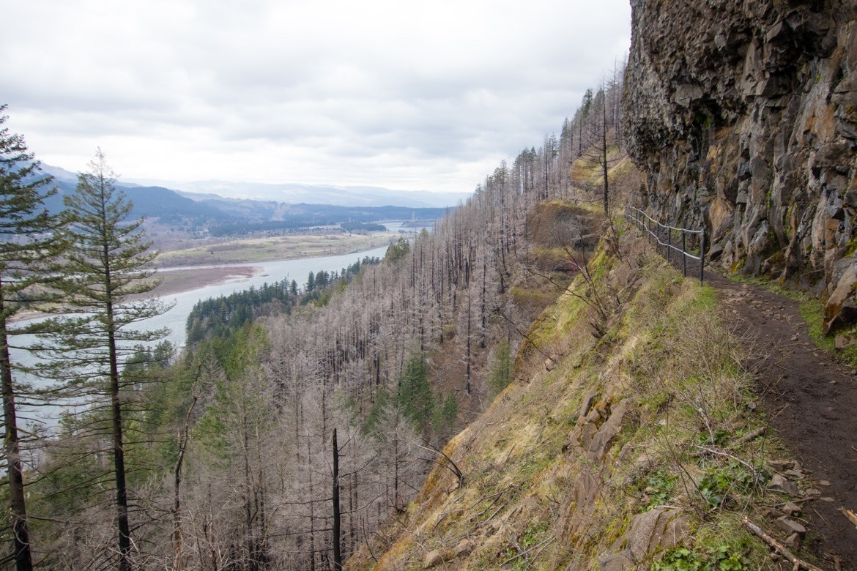 Hiking to Upper McCord Creek Falls