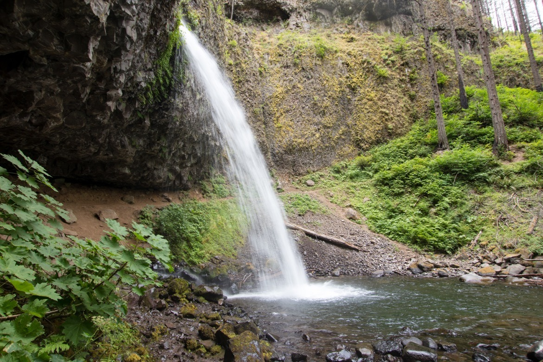 Upper Horsetail Falls/Ponytail Falls
