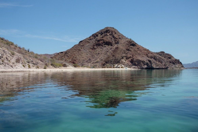 Playa Escondida in Bahia Concepcion, Mexico