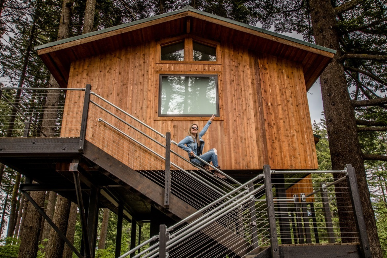 Skamania Lodge tree houses