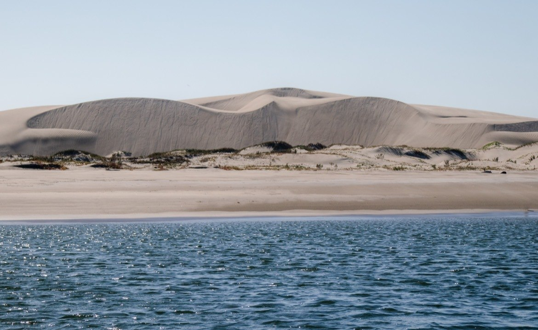 The sand dunes around Magdalena Bay near Adolfo Lopez Mateos