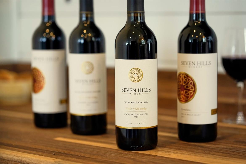 Seven Hills Winery in Walla Walla Washington