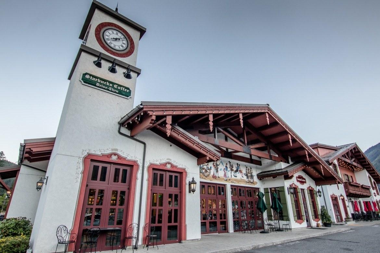 The Starbucks in Leavenworth