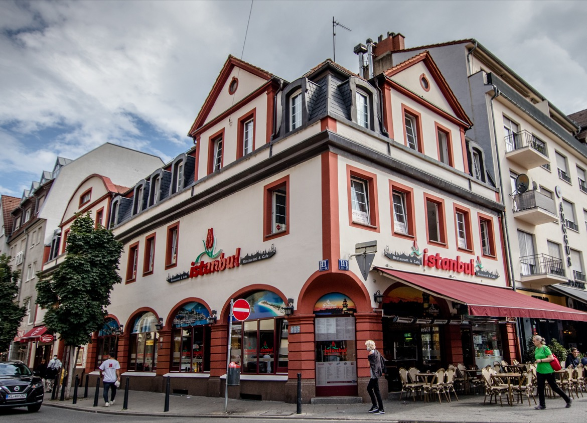 Little Istanbul in Mannheim Germany