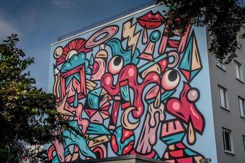Open Urban Art Museum in Mannheim
