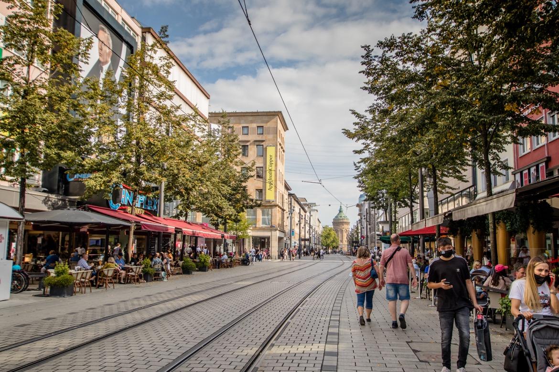 Shopping in Planken, Mannheiim, Germany